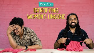 Men Try Identifying Women's Lingerie | Ok Tested