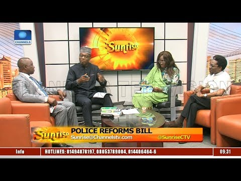 Fmr Police AIG,ENDSARS Initiator Discuss Impact Of Police Reforms Bill |Sunrise|
