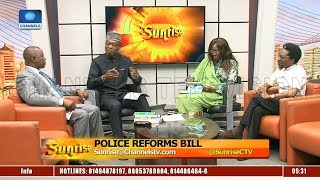 Fmr Police AIG,ENDSARS Initiator Discuss Impact Of Police Reforms Bill  Sunrise 