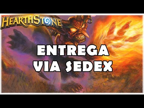 HEARTHSTONE - ENTREGA VIA SEDEX! (STANDARD ZOO WARLOCK)