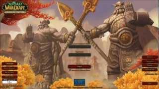 All WoW Login Music and Screens [HD]
