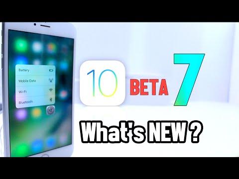 iOS 10 Beta 7 What