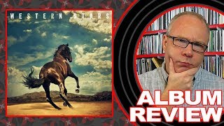 "Baixar ALBUM REVIEW: Bruce Springsteen ""Western Stars"" with BONUS UNBOXING"