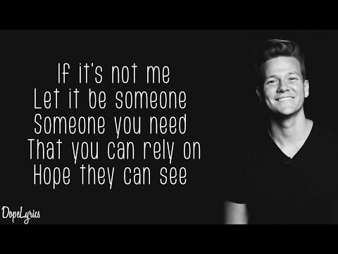 Tyler Ward - If It's Not Me (Original Song)(Lyrics)