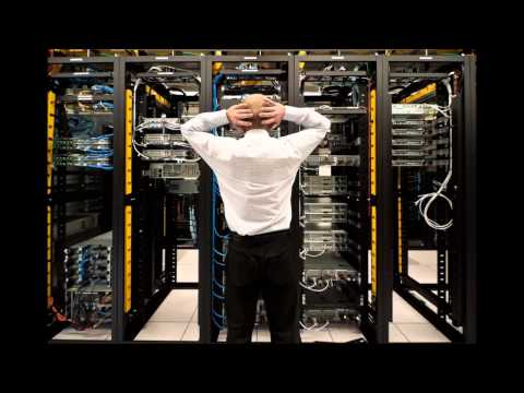 Data center sounds, servers room, air cooling, audio, video, 6 hours of loud noise