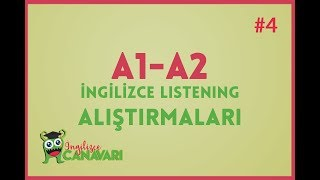 A1 A2 ingilizce Dinleme Alistirmalari Listening in English #4