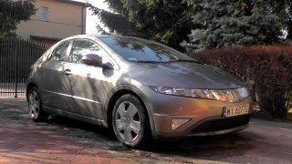 Honda Civic 2007 5D silnik, wnętrze, nadwozie + jazda testowa POV