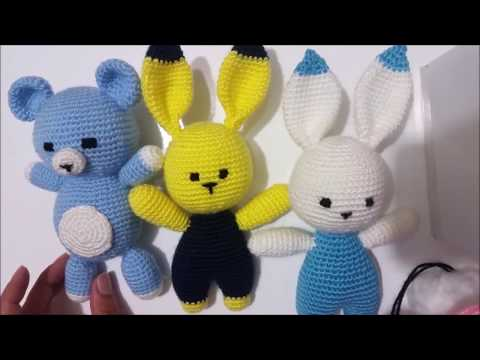 (Amigurumi ) Örgü Oyuncak Tavşan Yapımı 1