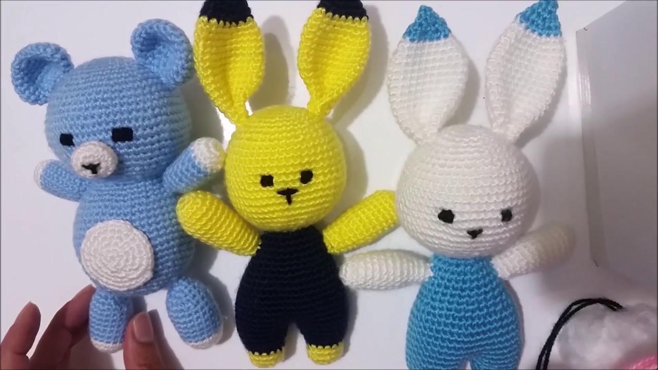 Amigurumi Kolay Oyuncak Tavşan Yapılışı Türkçe Anlatımlı Videolu