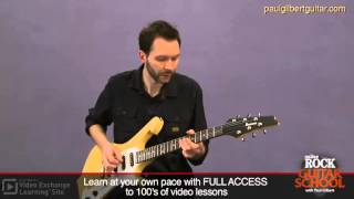 Paul Gilbert Guitar Lesson: Pentatonic Chicka