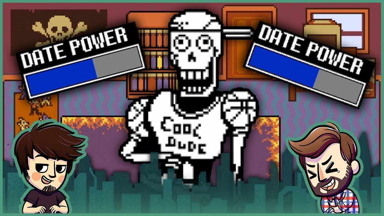 date a cool dude undertale part 8 youtube