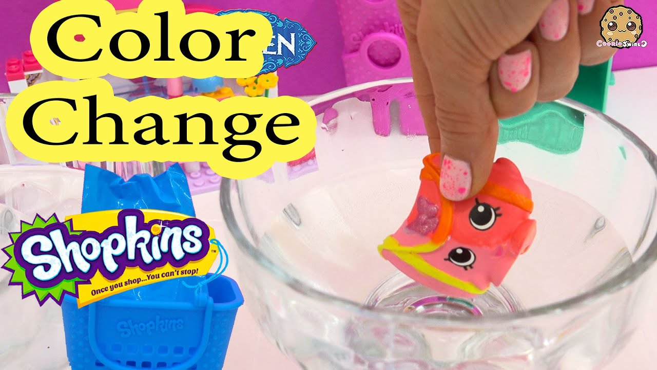 Shopkins coloring pages nail polish - Diy Color Change Shopkins Mcdonalds Happy Meal Edition Toy How To Video Youtube