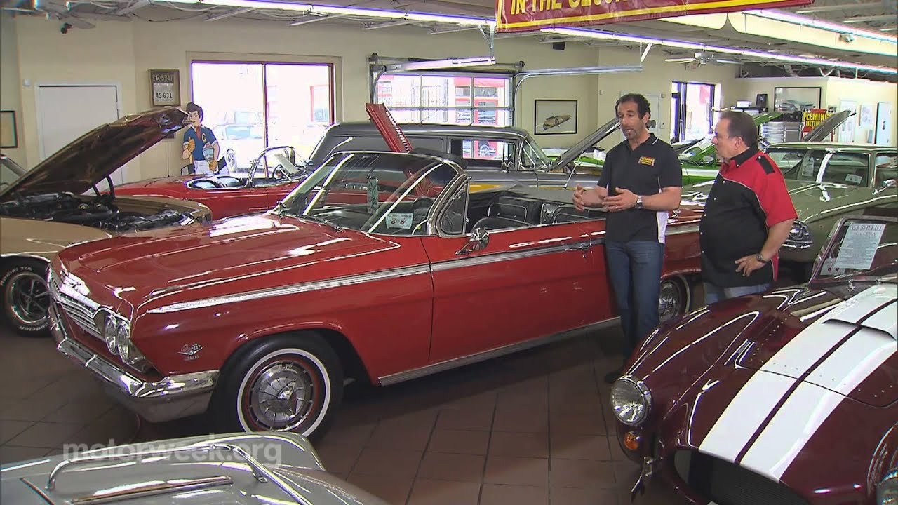 Goss Garage Classic Car Showroom