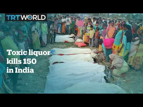 Toxic alcohol kills over 130 people in northeastern India