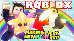 Making Every New NEON PET in Adopt Me! NEW Adopt Me Spring Festival Update (Roblox)