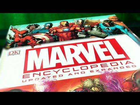 MARVEL Encyclopedia Updated and Expanded Review