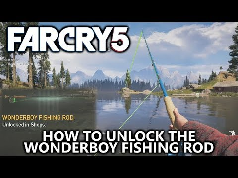 Far Cry 5 - How To Unlock The Wonderboy Fishing Rod - Hope County Master Angler Achievement/Trophy