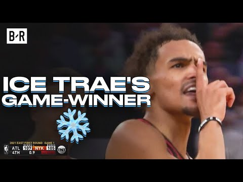 Trae Young Hits Clutch Shot To Win Game 1 vs. Knicks