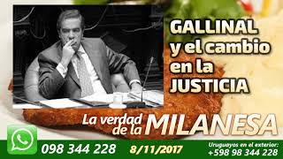 Francisco Gallinal y el cambio en la Justicia