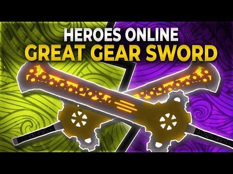 [NEW CODE] How to get Great Gear Sword in Heroes Online
