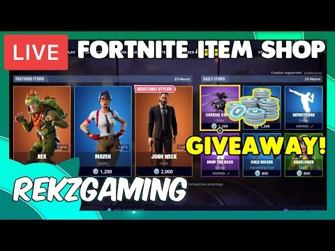 NEW ITEM SHOP! REX IS BACK! [May 20th, 2019] (fortnite battle royale)