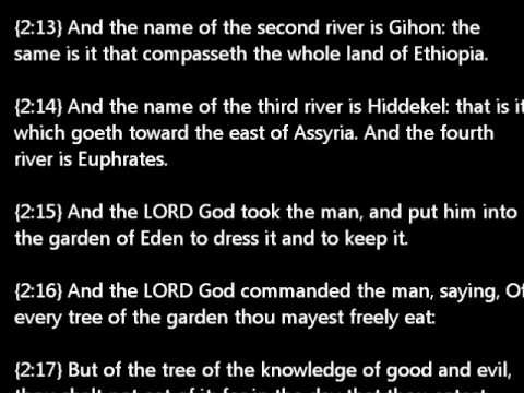 holy bible genesis chapter 2
