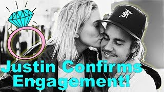 Justin Bieber Officially Announces Engagement To Hailey Baldwin ... Read His Love Letter To Her!
