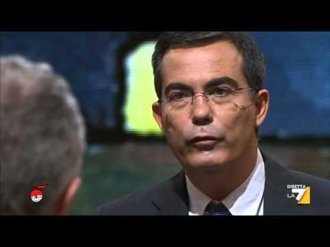 L'intervista di Floris a Travaglio sui due anni di governo di Renzi