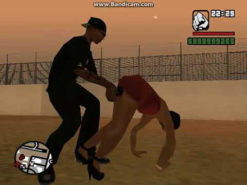 GTA San Andreas  мод снять девушку