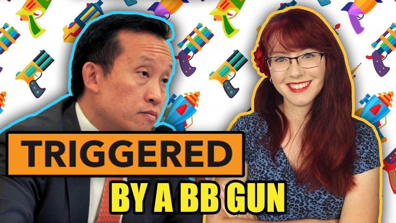 Lawmaker Triggered By BB Gun