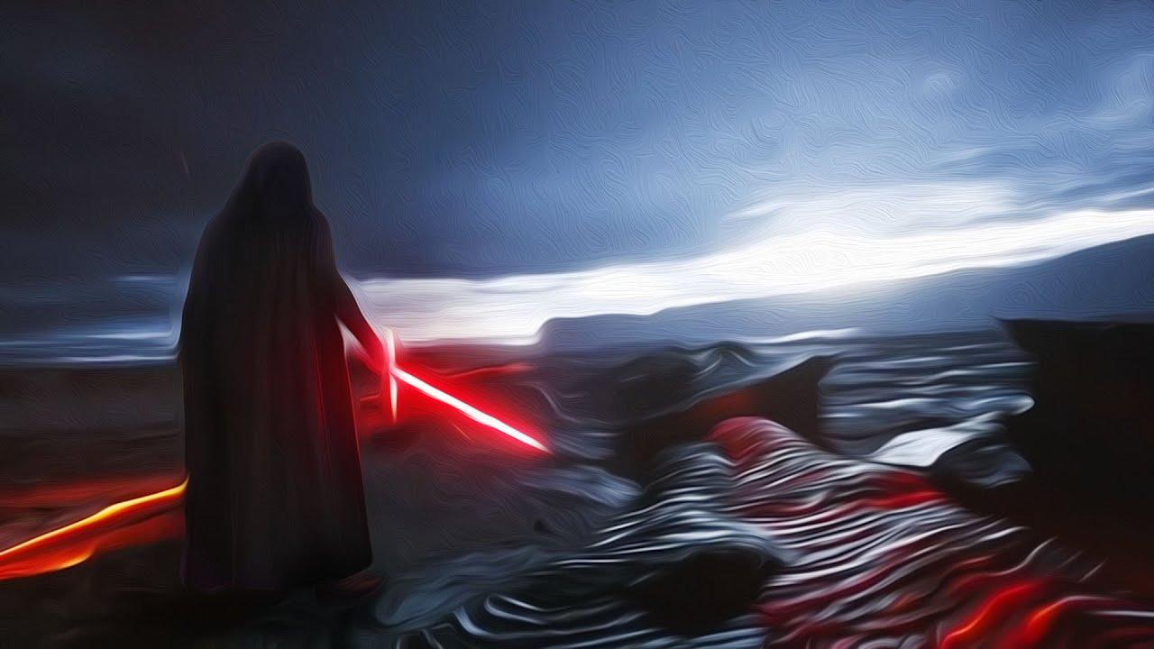 Luke Confronts Kylo Ren On Mustafar Scene Original Ep 9 Script Audiobook 1 Youtube