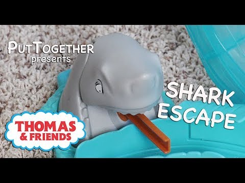 Fisher-Price Shark Escape Assembly Instructions | Thomas & Friends 2019