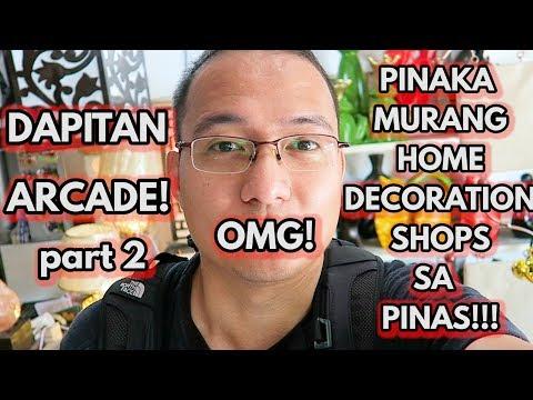 Dapitan Arcade : Where to Buy Cheap Home Decor Part 2 -  Sulit Deal! MAY NANALO NA!