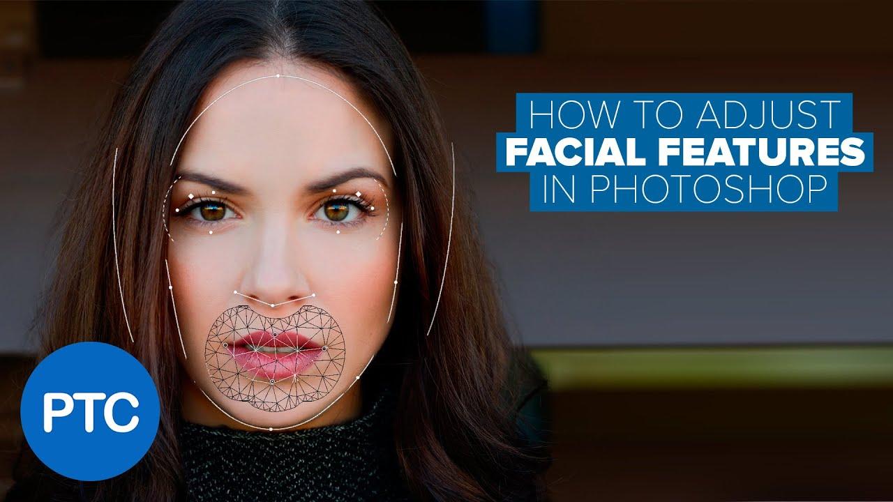 Facial features change
