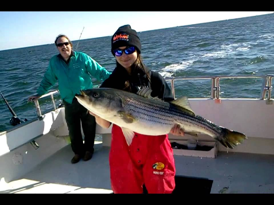 Winter striper fishing in virginia beach aboard the for Charter fishing virginia beach