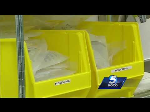 Metro hospital's pharmacy director says US is in saline shortage crisis