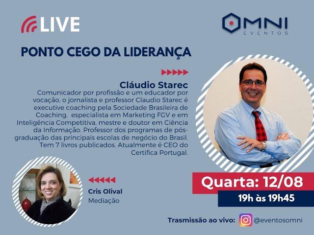 Live - Ponto Cego da Liderança! Consultor Cláudio Starec