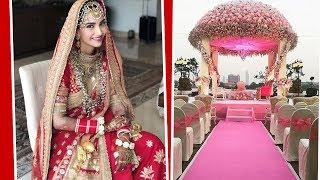 Свадьба Сонам Капур: первые фото