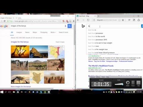 Google Search Vs Bing Search