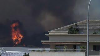 Corse : les pompiers luttent toujours contre les incendies