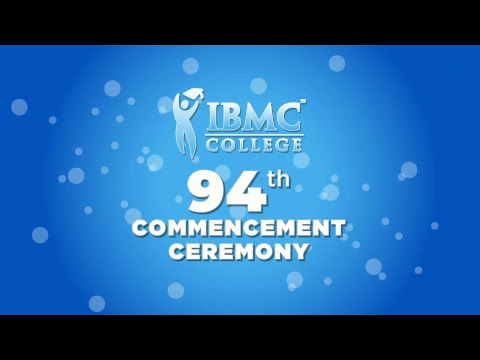 IBMC College Commencement Ceremony June 2018
