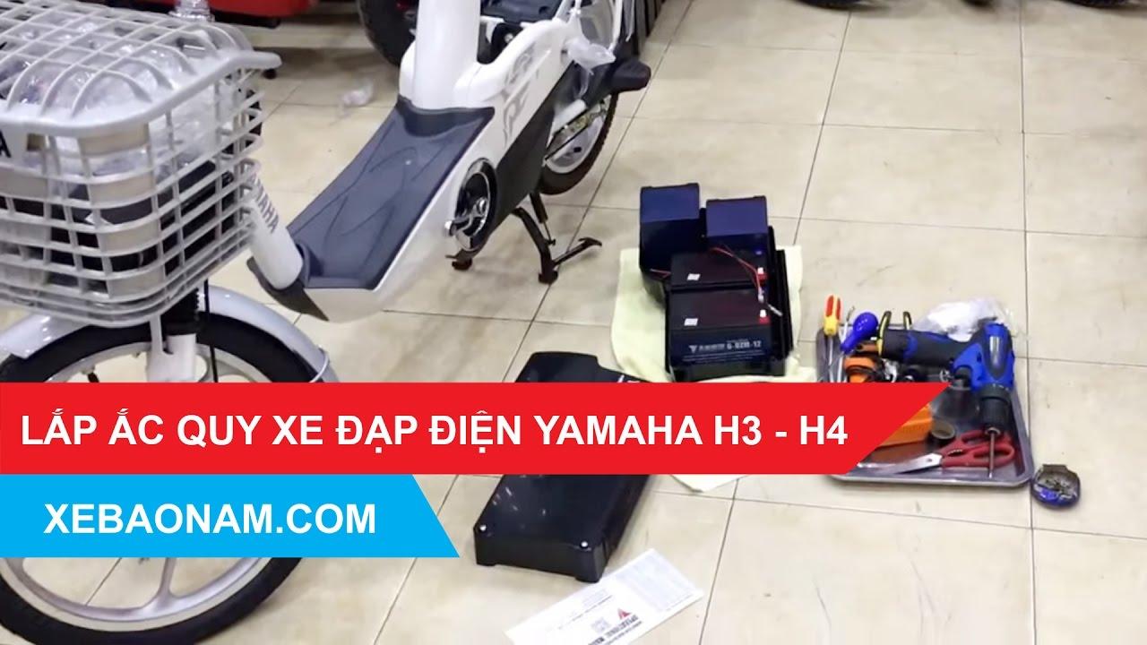 [Xebaonam.com] Xe đạp điện YAMAHA H3 H4 | 0979.66.22.88 | Xebaonam.com