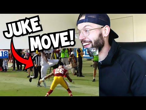 Rugby Player Reacts to NFL Top 100 Moves of 2017 Season - Jukes, Stiff Arms and Hurdles!