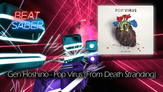 Gambar cover Beat Saber | Gen Hoshino - Pop Virus (Expert)