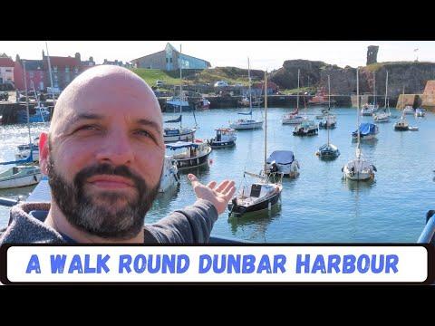 A walk round Dunbar Harbour