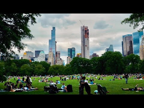 NEW YORK SIGHTSEEING 2017 - High Line, Central Park, One World Trade Center