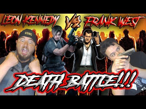 ZOMBIE KILLING BAD-ASSES!!! Leon Kennedy VS Frank West Death Battle Reaction