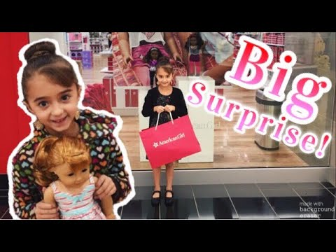 SURPRISE trip to American Girl Store!