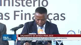 ORÇAMENTO DE ESTADO PARA 2019