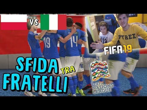 POLONIA vs ITALIA - GOAL SU PUNIZIONE!?! - NATIONS LEAGUE - Fifa 19